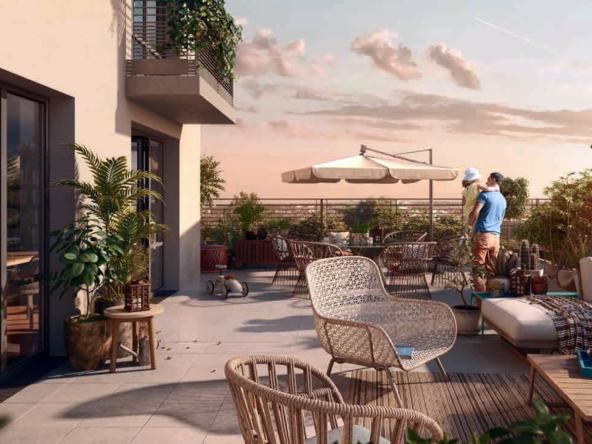 Programme Immobilier Le-Marigny SMD Patrimoine à Athis-Mons