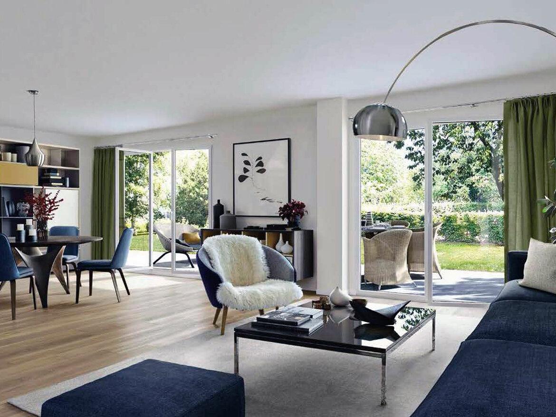 Plan programme immobilier SDM Patrimoine Aquarelle